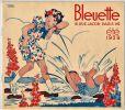 Bleuette vous prie de venir voir son trousseau exposé dans les bureaux de la Semaine de Suzette, 18 rue Jacob, Paris VIe.  Eté 1939.. IESSEL (Manon).