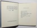 L'Oeuf de Héron. Traduit de l'anglais par Roger Giroux. . YEATS (W.B.).