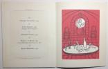Un demi-siècle de Grands Millésimes. Illustré par Touchagues. Quatrième  Exposition-Dégustation Patriarche.. TOUCHAGUES.