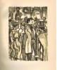 Verlaine (en suivant le pauvre Lélian) 1895-1896. Lithographies originales de André Provôt et Maurice Berdon.. ARESSY(Lucien).