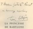 La Princesse de Babylone.  Conte. Bois et burins de Latapie.. VOLTAIRE .