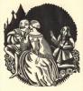 Treize proverbes et des dictons populaires  mis en façon d'Alphabet. Illustré de compositions originales gravées sur bois par Victor Stuyvaert.. ...