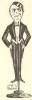 Dans le fauteuil d'Alceste. Saison 1922-1923.. BEDOC (Fred).