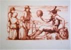 Le Bouffon Blanc. Pointes sèches originales de Eugène Corneau.. LA VARENDE (Jean de).