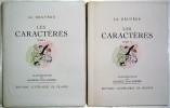 Les Caractères ou Moeurs de ce siècle. Illustrations de Maurice Van Moppès.. LA BRUYERE.
