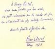 Médard de Paris. Aquarelle et bois de Frans Masereel.. ARCOS (René).