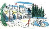Dessins animés. Avec le concours de Raymond Peynet.. TRIOLET (Elsa).