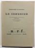 Le Cendrier. Calligraphie de l'auteur par Halicka gravée sur bois par G.Aubert.. FLEURET (Fernand).