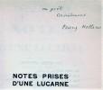 Notes prises d'une lucarne. Edition ornée de 11 dessins inédits d'André Lhote.. HELLENS (Franz).