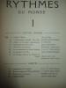 Rythmes du monde N°1 (Mars 1947). Collectif (Lin Li-Wei ; Liou Kia-Hway ; E. Merveille ...)