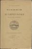 LE CABINET D'ANGLE ET SA DECORATION. Note sur quatre dessins inédits de Gabriel.. HIRSCHAUER Ch