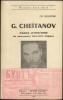 G. CHEITANOV. Pages d'histoire du mouvement libertaire bulgare.. BALKANSKI Gr.