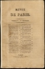 REVUE DE PARIS, TOME PREMIER (1). COLLECTIF (Nodier - Lamartine - Rossini - etc.)