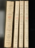 Cahiers intimes inédits de Marie Bashkirtseff. Complet en 4 volumes.. BASHKIRTSEFF Marie