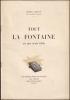 TOUT LA FONTAINE EN UNE SEULE FABLE.. (LA FONTAINE) - LEGOUVÉ Ernest