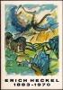 ERICH HECKEL 1883 - 1970. Aquarelle und Zeichnungen aus Norddeutschland. Exposition Hambourg, Alotnaer Museum, 27 octobre 1970 - 21 février 1971.. ...