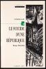 LE SUICIDE D'UNE RÉPUBLIQUE. Weimar 1918 - 1933.. GAY Peter