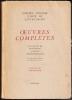 OEUVRES COMPLÈTES. Les Chants de Maldoror - Poésies - Correspondance.. LAUTRÉAMONT (Isidore Ducasse, comte de) - SOUPAULT Philippe (préface)