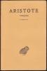 TOPIQUES. Tome I : Livres I - IV. ARISTOTE