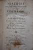 HISTOIRE NATURELLE ET POLITIQUE DE LA PENSYLVANIE, ET DE L'ÉTABLISSEMENT DES QUAKERS DE CETTE CONTRÉE. TRADUITE DE L'ALLEMAND. P.M.D.S. CENSEUR ROYAL. ...