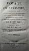 VOYAGE EN ABYSSINIE, ENTREPRIS PAR ORDRE DU GOUVERNEMENT BRITANNIQUE, EXÉCUTÉ DANS LES ANNÉES 1809 ET 1810, ET DÉDIÉ À SON ALTESSE ROYALE LE PRINCE ...