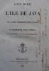 Coup d'œil sur l'île de Java et les autres possessions Néerlandaises dans l'Archipel des indes. . HOGENDORP (COMTE C. S. W. DE).