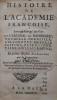 Histoire de l'académie Francoise, Avec un Abregé de Vies du Cardinal de Richelieu, Vaugelas, Corneille, Ablancourt, Mezerai … et autre illustres ...