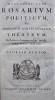 ROSARIUM POLITICUM sive sortis humanae theatrum, de Persico in Latinum versum, necessariisuqe notis illustratum a Georgio Gentio. . SADI (OU SAADI).
