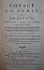 Voyage en Syrie et en Egypte pendant les années 1783, 1784 et 1785. Seconde édition. . VOLNEY (CONSTANTIN FRANÇOIS).