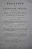 Relation de l'ambassade anglaise, envoyée en 1795 dans le royaume d'Ava, ou l'empire des Birmans. . SYMES MICHAEL.
