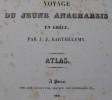 Voyage du Jaune Anacharsis en Grèce. ATLAS.. BARTHELEMY.