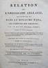 Relation de l'ambassade anglaise, envoyée en 1795 dans le royaume d'Ava, ou l'empire des Birmans.. SYMES MICHAEL.