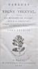 Tableau du Règne Végétal, selon la Méthode de Jussieu. Paris, J. Drisonnier, an VII (1799). . VENTENAT (E.P.).