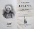 Aperçu général sur l'Egypte.. CLOT BEY ANTOINE.