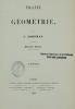 TRAITE DE GEOMETRIE. ADHEMAR J.