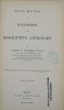 A HANDBOOK OF DESCRIPTIVE ASTRONOMY. CHAMBERS GEORGES