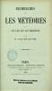 Recherches sur les météores et sur les lois qui les régissent. COULVIER-GRAVIER (Rémi-Armand)