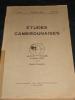 ETUDES CAMEROUNAISES. TOME I. JUIN-SEPT. N°21-22.