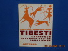 TIBESTI. Carrefour de la Préhistoire Saharienne. BECK / HUARD
