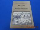 Bulletin de Liaison Saharienne. Avril 1953 N°12. Dubieff; Balou; Imbart; Herbelin; Butaye; Chalumeau Collectif
