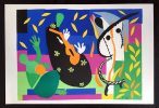 LA TRISTESSE DU ROI. Lithographie sur Arches pour VERVE Vol. IX, No. 35-36. 1958. MATISSE DERNIÈRES ŒUVRES 1950-1954.. MATISSE, Henri (1869-1954)
