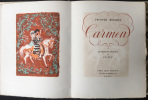 CARMEN. Lithographies originale de Clavé. MÉRIMÉ, Prosper - Antoni CLAVÉ