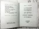LES BONNES. L'ATELIER D'ALBERTO GIACOMETTI. L'ENFANT CRIMINEL. LE FUNAMBULE. (le n° 4 sur Japon nacré). GENET, Jean