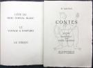 CONTES. illustré de bois originaux par Henri Laurens.. SAROYAN, William
