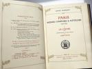 PARIS, mœurs, costumes & attitudes. 1914-1915. II. LA DANSE. L'exemplaire de Maurice Chevalier avec originaux.. LOBEL-RICHE (Alméry) et Anne OSMONT