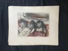 LA MAISON TELLIER. Illustrations d'Edgar Degas. . MAUPASSANT, Guy de - Edgar Degas
