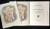 UNE ÉTOILE DE CRAIE. Seize ithographies originales d'André Masson.. WALDBERG, Patrick - MASSON, André