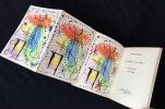 LA RAME ET LA ROUE. Lithographie de Joan Miro (1 des 25 de tête).. CAZELLES, René - Joan MIRO