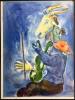 PRINTEMPS. Lithographie pour Verve. Vol. I, n° 3. 1938. . CHAGALL, Marc - Sorlier, Charles.