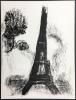 Place de la Concorde. Lithographie originale pour VISION DE PARIS. VERVE VOLUME VII. Nos 27-28. 1952.. CHAGALL, Marc